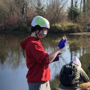 Students run water tests